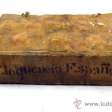 Libros antiguos: EPITOME DE LA ELOQUENCIA ESPAÑOLA, FRANCISCO JOSEPH ARTIGA, BARCELONA 1770. 15X11 CM.. Lote 36380972