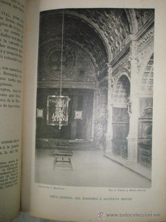 Libros antiguos: PEREZ-VILLAMIL, M.: Estudios de historia y arte. LA CATEDRAL DE SIGÜENZA erigida en el siglo XII, co - Foto 7 - 36408139