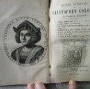 Libros antiguos: LETTERE AUTOGRAFE DE CRISTOFORO COLOMBO NOUVAMENTE STAMPATE. Lote 36446065