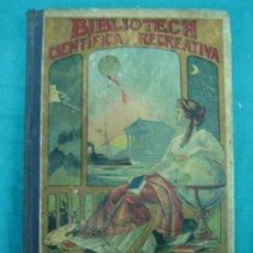Libros antiguos: BIBLIOTECA CIENTIFICA RECREATIVA. 24 LOS GLOBOS Y LOS VIAJES AEREOS 1883. Lote 36450325