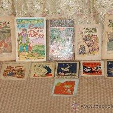 Libros antiguos: 2833- INTERESANTE LOTE DE 13 PUBLICACIONES INFANTILES VARIOS TITULOS Y EPOCAS. VER DESCRIPCION. . Lote 36467536