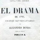 Libros antiguos: EL DRAMA DE 1793. ESCENAS REVOLUCIONARIAS POR ALEJANDRO DUMAS. MADRID 1861. Lote 36553614