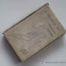 Libros antiguos: R. VELASCO - IMPRESOR - MADRID. 1914 - POESIAS - CHUFLAS - DICHOS CASTIZOS - RIMAS - COPLAS ..... Lote 36518510