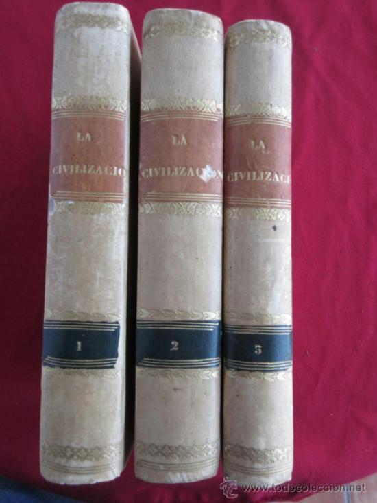 LA CIVILIZACIÓN - 1841 (Libros Antiguos, Raros y Curiosos - Ciencias, Manuales y Oficios - Otros)