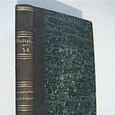 Libros antiguos: OEUVRES COMPLETES DE VOLTAIRE. TOME LIV. LETTRES DE M. DE VOLTAIRE ET DE M. D´ALEMBERT. 1830. Lote 36568091