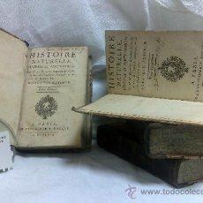 Libros antiguos - AÑO 1769.- HISTOIRE NATURELLE.- PAR M. DE BUFFON.- A PARIS E L`IMPRIMERIE ROYALE MDCCLXIX.- 4 TOMOS. - 36632406