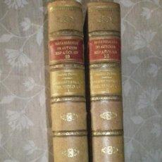 Libros antiguos: CANCIONERO CASTELLANO DEL SIGLO XV, ORDENADO POR FOULCHÉ-DELBOSC. DOS VOLÚMENES QUE COMPONEN LA OBRA. Lote 36650555