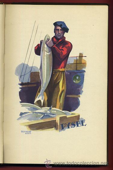 Libros antiguos: LIBRO, PYSBE , TEMA COCINA ,Pesquerías y Secaderos de Bacalao de España). 1936 , ORIGINAL - Foto 3 - 36664573