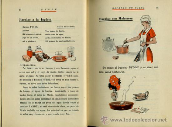 Libros antiguos: LIBRO, PYSBE , TEMA COCINA ,Pesquerías y Secaderos de Bacalao de España). 1936 , ORIGINAL - Foto 4 - 36664573