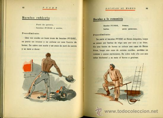Libros antiguos: LIBRO, PYSBE , TEMA COCINA ,Pesquerías y Secaderos de Bacalao de España). 1936 , ORIGINAL - Foto 5 - 36664573