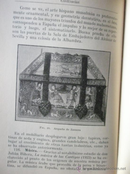 Libros antiguos: Gonzalez Palencia, A.: Historia de la España Musulmana (1ª edición) - Foto 6 - 36689674