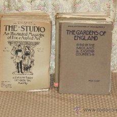 Libros antiguos: 3010- THE STUDIO AN ILLUSTRATED MAGAZINE. INCREIBLE LOTE DE 45 NUMEROS. VER DESCRIPCION.. Lote 36828140