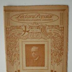 """Libros antiguos: LECTURA POPULAR, """"L'HOSTAL DE LA SERENA"""" JOSEPH ABRIL Y VIRGILI . Lote 36862359"""