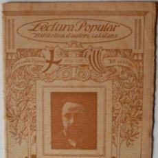 "Libros antiguos: BIBLIOTECA D'AUTORS CATALANS. EDUART GIRBAL JAUME ""DISCURSOS"" . Lote 36901225"