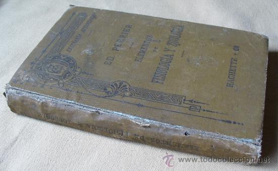 Libros antiguos: ELEMENTOS DE FISIOLOGIA Y ZOOLOGIA, ED. PERRIER - Foto 3 - 36935785
