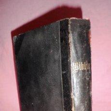 Libros antiguos: LA SANTA BIBLIA - ANTIGUA VERSION DE CIPRIANO DE VALERA - AÑO 1919 - BIBLIA PROTESTANTE.. Lote 36931733
