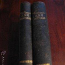Libros antiguos: AÑO CRISTIANO O EJERCICIOS DEVOTOS PARA TODOS LOS DIAS DEL AÑO.- CROISSET (1863).- DOS TOMOS. Lote 36984035