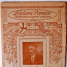 """Libros antiguos: BIBLIOTECA D'AUTORS CATALANS """"VICENS ANDRÉS-HUMORÍSTIQUES"""" . Lote 37007162"""