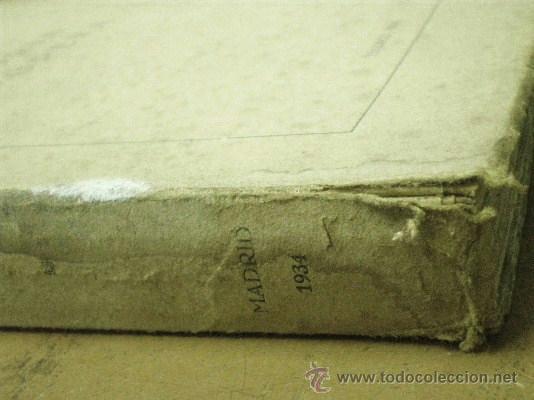 Libros antiguos: LOMO DAÑADO - Foto 2 - 37011863
