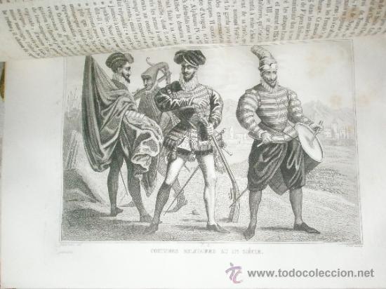 Libros antiguos: Saint-Prosper, A.: Histoires D´ESPAGNE, de Portugal, de Hollande et de Belgique, depuis les temps le - Foto 8 - 37169090