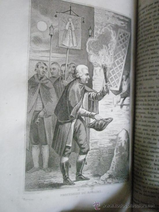 Libros antiguos: Saint-Prosper, A.: Histoires D´ESPAGNE, de Portugal, de Hollande et de Belgique, depuis les temps le - Foto 10 - 37169090