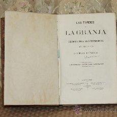Libros antiguos: 3125- LAS TARDES EN LA GRANJA. DUCRAY DUMINIL. EDIT. LA MARAVILLA. S/F. . Lote 37142138