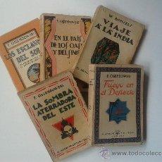 Libros antiguos: LOTE DE CINCO LIBROS DE M. AGUILAR, EDITOR. Lote 37168582