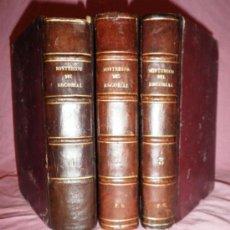 Libros antiguos: LOS MISTERIOS DEL ESCORIAL - CONDE FABRAQUER - AÑO 1860 - BELLOS GRABADOS.. Lote 37190633