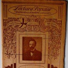 """Libros antiguos: BIBLIOTECA D'ESCRIPTORS CATALANS. J. FREIXAS Y FREIXAS """"IMPRESSIONS DE METGE"""" . Lote 37205446"""