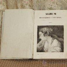 Libros antiguos: 3144- ALBUM PINTORESCO UNIVERSAL. 1841. VV.AA. VER DESCRIPCION.. Lote 37213789