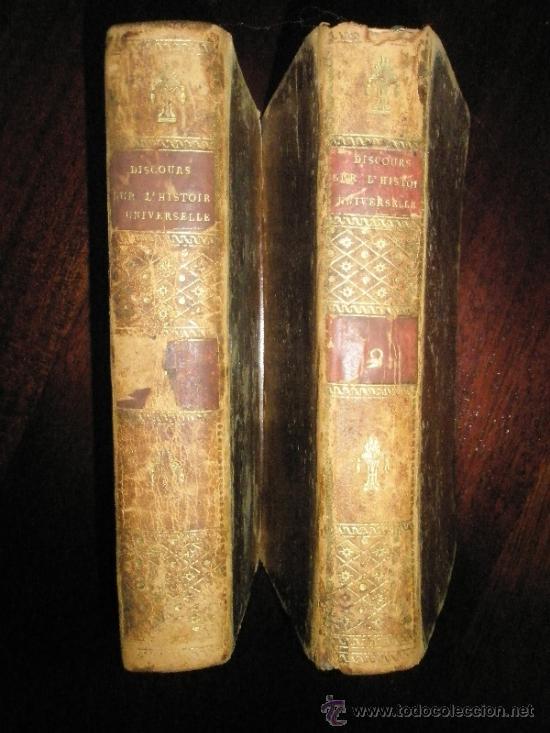 Libros antiguos: BOSSUET, Jacques-Bénigne: Discours sur l´histoire universelle, a Monseigneur Le Dauphin; pour expliq - Foto 5 - 37334126