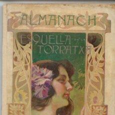 Libros antiguos: ALMANACH ESQUELLA DE LA TORRATXA. BARCELONA 1903.. Lote 37343089