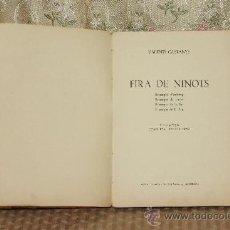 Libros antiguos: 3211- FIRA DELS NINOTS. VALENTI CASTANYS. EDIT. COSTA I GARCIA. S/F. . Lote 37359794