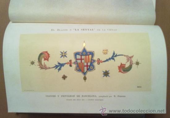 Libros antiguos: ANUARIO ESTADISTICO DE BARCELONA AÑO VI 1907. PLANO PUERTO DE BARCELONA - Foto 4 - 37408860
