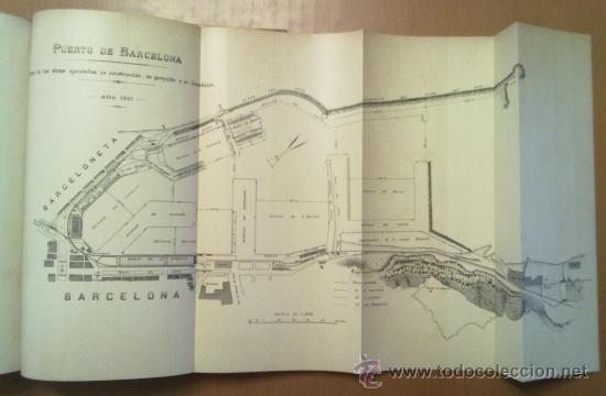 Libros antiguos: ANUARIO ESTADISTICO DE BARCELONA AÑO VI 1907. PLANO PUERTO DE BARCELONA - Foto 6 - 37408860