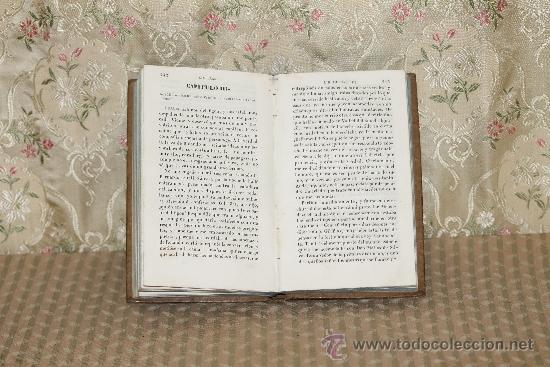 Libros antiguos: 3315- AVENTURAS DE GIL BLAS DE SANTILLANA. LE SAGE. IMP GORCHS. 1836. TOMO I. - Foto 4 - 37487292
