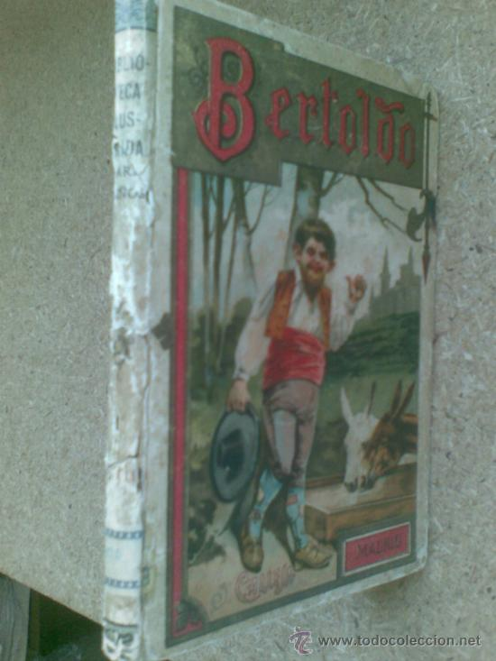 Libros antiguos: Bertoldo, Bertoldino y Cacaseno (ca.1910) / Cesare della Croce, Scaligiere della Frata. Ed. Calleja. - Foto 2 - 37518818