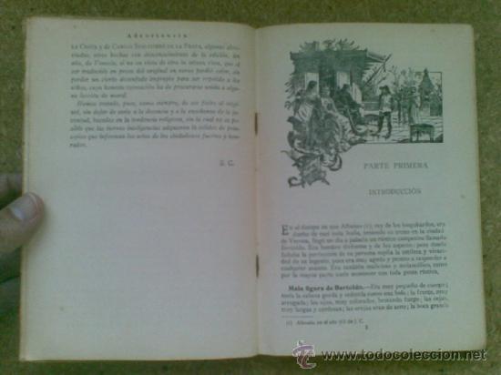 Libros antiguos: Bertoldo, Bertoldino y Cacaseno (ca.1910) / Cesare della Croce, Scaligiere della Frata. Ed. Calleja. - Foto 5 - 37518818