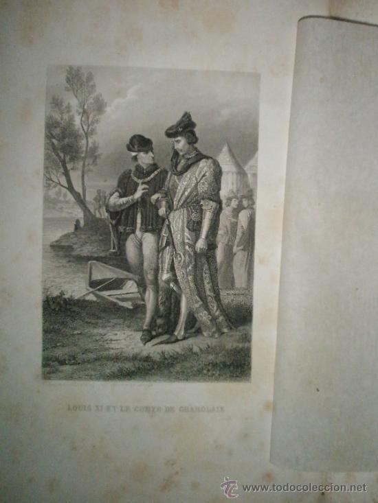 Libros antiguos: ANQUETIL: Histoire de France depuis les temps les plus reculés jusqu´a la Revolution de 1789 (1852-1 - Foto 8 - 37681853