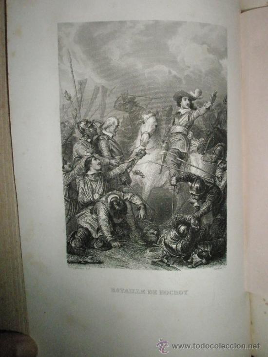 Libros antiguos: ANQUETIL: Histoire de France depuis les temps les plus reculés jusqu´a la Revolution de 1789 (1852-1 - Foto 10 - 37681853