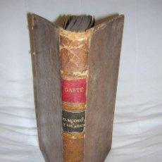 Libros antiguos: 1906 - GASTE - EL MODELO Y LOS AIRES - EQUITACION, CABALLOS. Lote 37528279