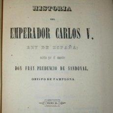 Libros antiguos: HISTORIA DEL EMPERADOR CARLOS V. TOMO II. (1846). Lote 37389698