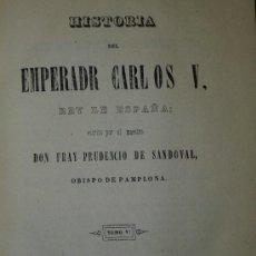 Libros antiguos: HISTORIA DEL EMPERADOR CARLOS V. TOMO VI. (1846). Lote 37389715