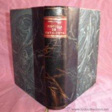 Libros antiguos: HISTORIA GENERAL DE CATALUNYA - M.SERRA I ROCA - AÑO 1920.BELLAMENTE ILUSTRADO.EN PIEL.. Lote 37584788