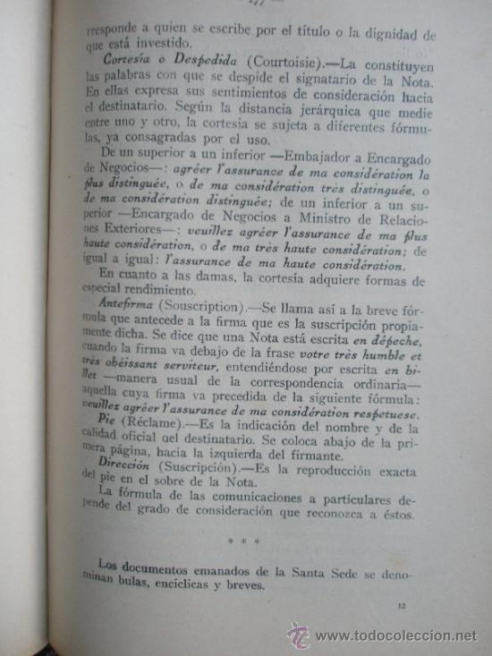 Libros antiguos: Urquiza, Adolfo J. de: Ceremonial Público (1932) - Foto 11 - 37731376