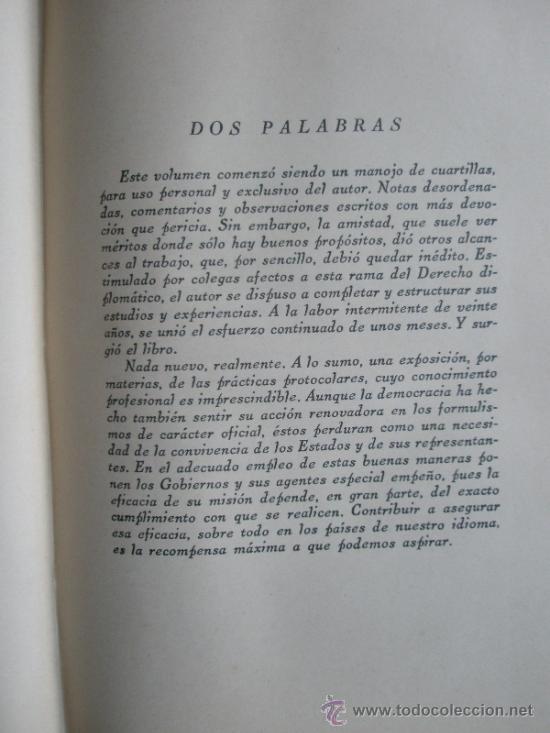 Libros antiguos: Urquiza, Adolfo J. de: Ceremonial Público (1932) - Foto 4 - 37731376