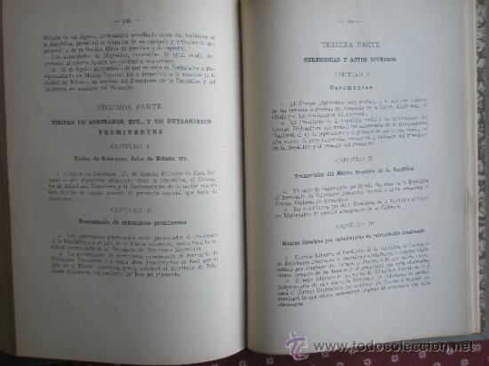 Libros antiguos: Urquiza, Adolfo J. de: Ceremonial Público (1932) - Foto 6 - 37731376