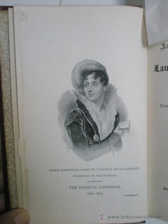 Libros antiguos: The Autobiographie and Recollections of Laura, Duchess of Abrantès (widow of General Junot) ó Memoir - Foto 12 - 37793535