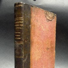 Libros antiguos: 1851 LOS ESPAÑOLES PINTADOS POR SI MISMOS Y NUESTRA SEÑORA DE PARÍS. Lote 37860519
