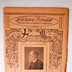 Libros antiguos: BIBLIOTECA D'AUTORS CATALANS. JOSEP MARTI I FOLGUERA